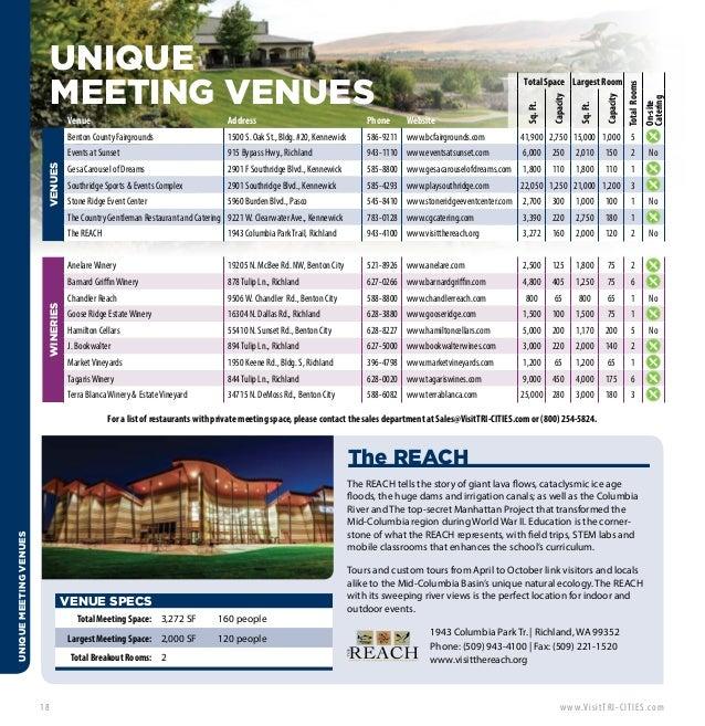 Stem School Kennewick Wa: Visit TRI-CITIES Meeting Planners Guide
