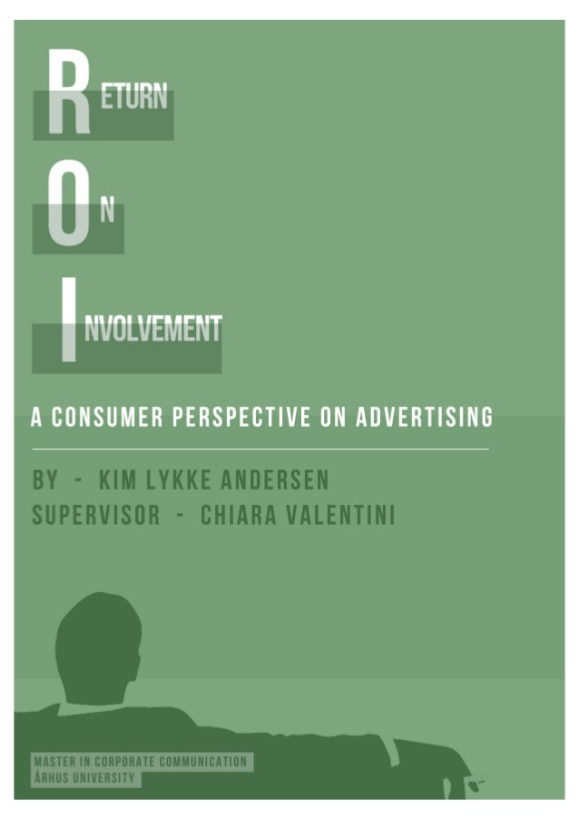 Dissertation consumer intention return