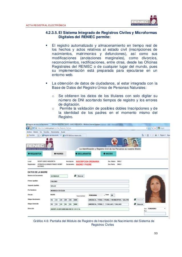 04 acta registral