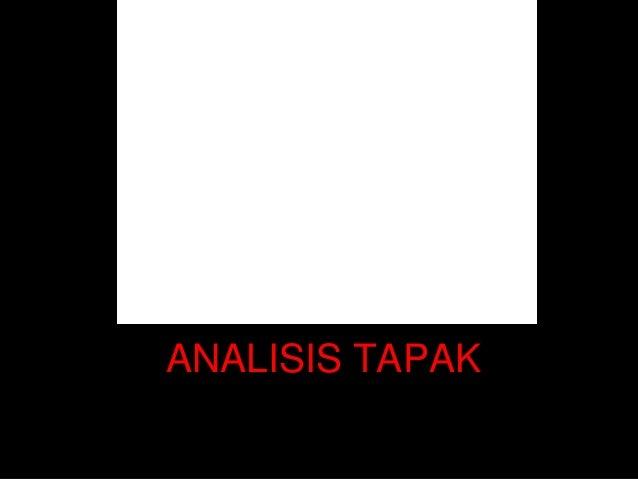 ANALISIS TAPAK