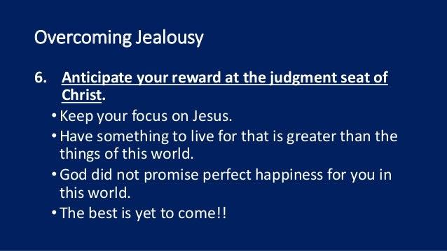 overcoming jealousy christian