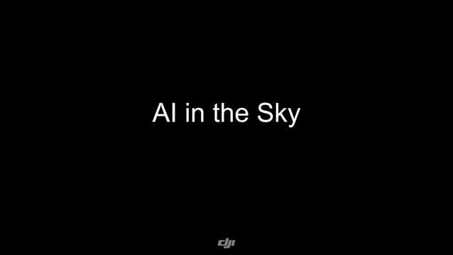 AI in the Sky