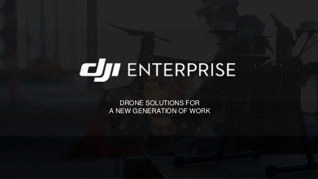 Drone industry in 2018