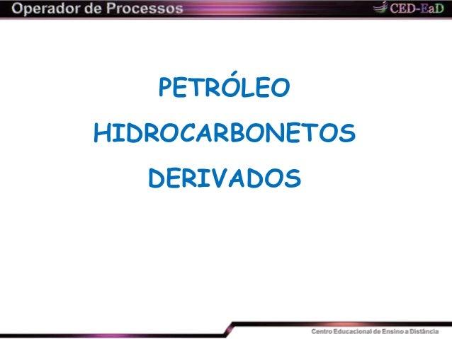 PETRÓLEO HIDROCARBONETOS DERIVADOS