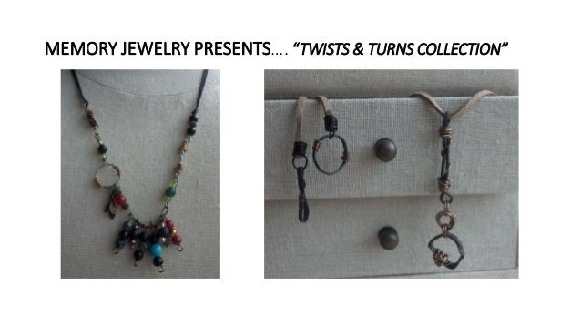 """MEMORY JEWELRY PRESENTS…. """"TWISTS & TURNS COLLECTION"""""""