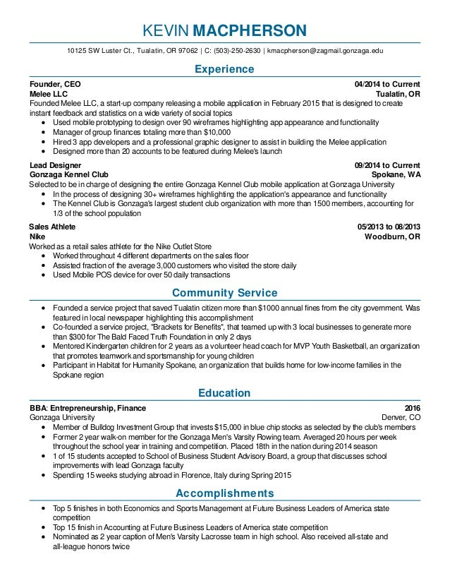 Best Spokane Accounting Resume Images - Best Resume Examples and ...