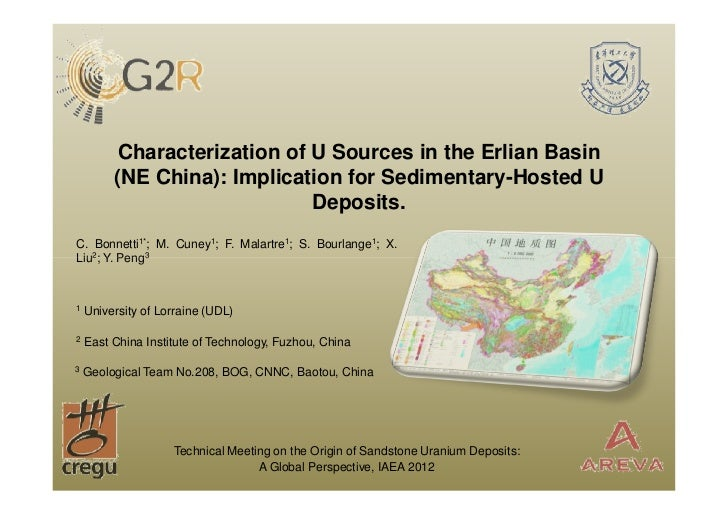 Characterization of U Sources in the Erlian Basin         (NE China): Implication for Sedimentary-Hosted U                ...