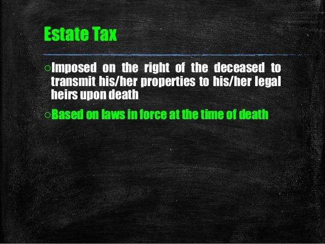 04 chapter 5 estate tax Slide 2
