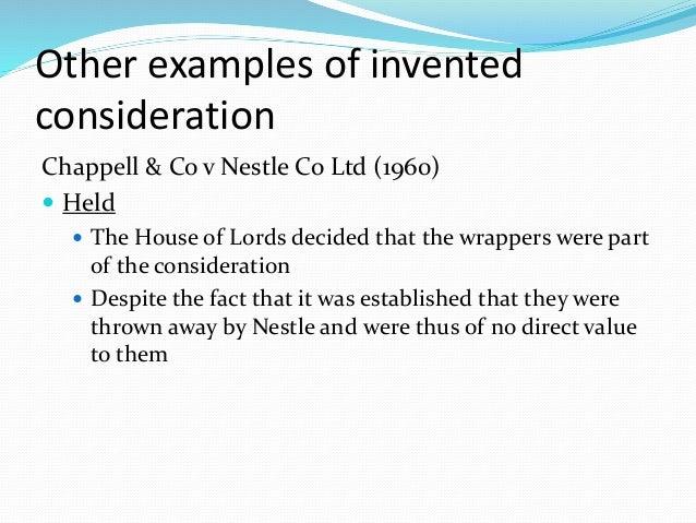 Chappell & Co Ltd v Nestle Co Ltd