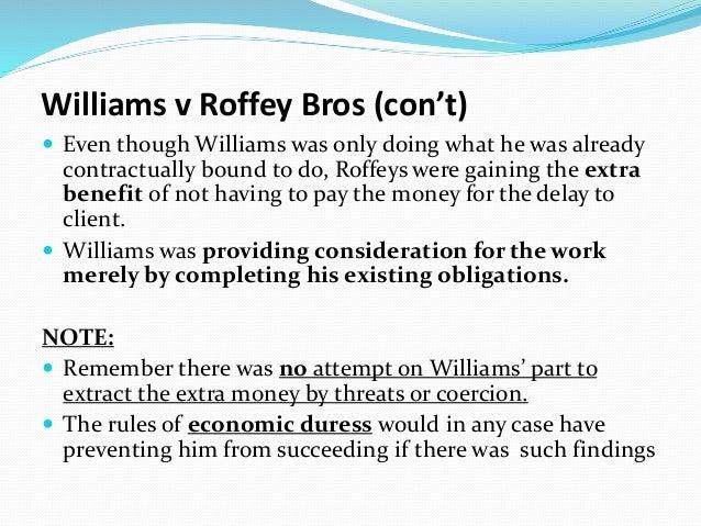 williams / roffey bros nicholls