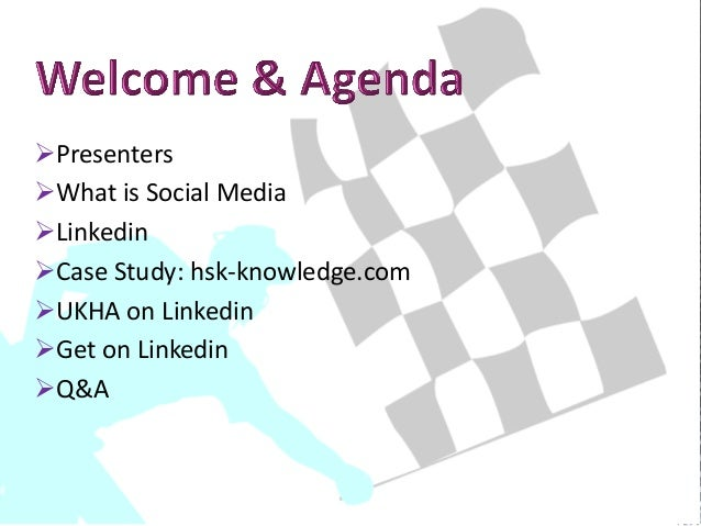 Social Media Master Class UKHA Slide 2