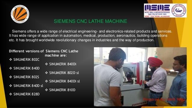 SIEMENS CNC LATHE MACHINE Different versions of  SINUMERIK 802C  SINUMERIK 840D  SINUMERIK 802S  SINUMERIK 840D sl  S...