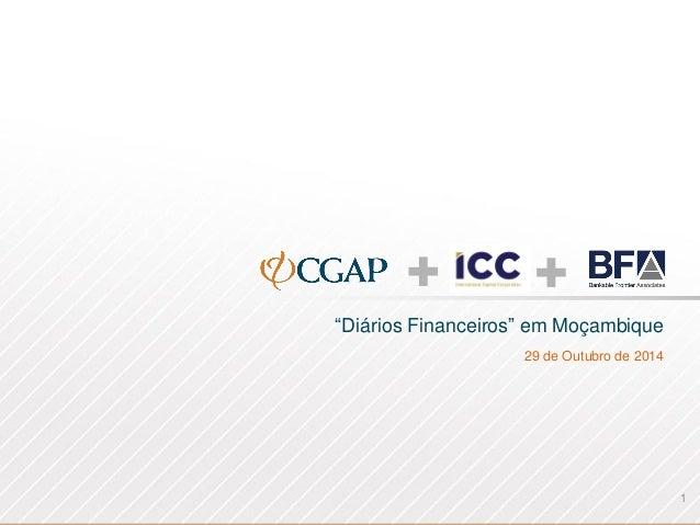 """""""DiáriosFinanceiros"""" emMoçambique  29 de Outubrode 2014  1"""