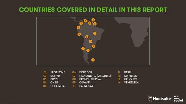 Digital in 2017: South America Slide 3