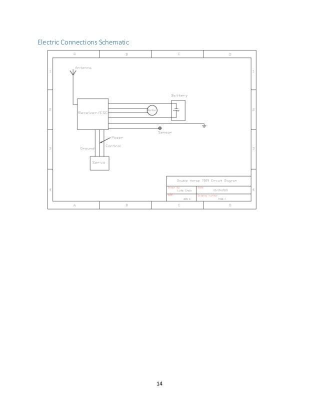 Electrical schematic design report