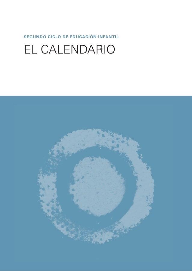 segundo CICLO DE EDUCACIóN INFANTIL EL CALENDARIO