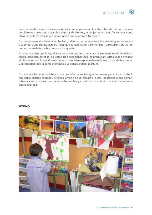 1er CICLO de EDUCACIÓN INFANTIL 14 el calendario INVIERNO