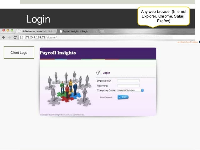 Portal payroll login