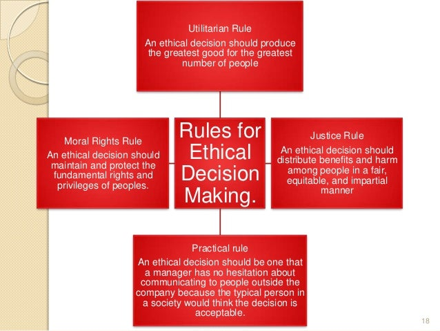thesis ethical decision making Read about how you need to make distinctions between competing choices and take consequences into account when making ethical decisions ethical decision-making refers to the process of evaluating and choosing among alternatives in a manner consistent with ethical principles in making ethical decisions, it is necessary to.