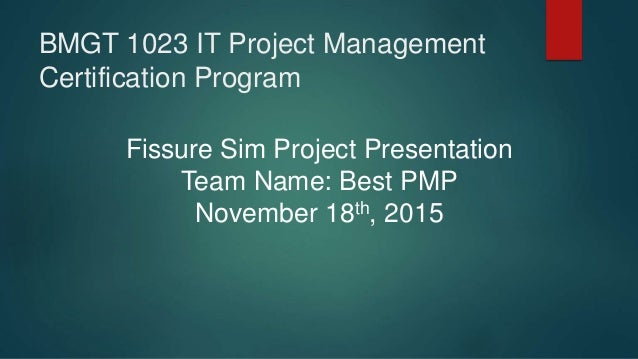 capstone project unisim 2015