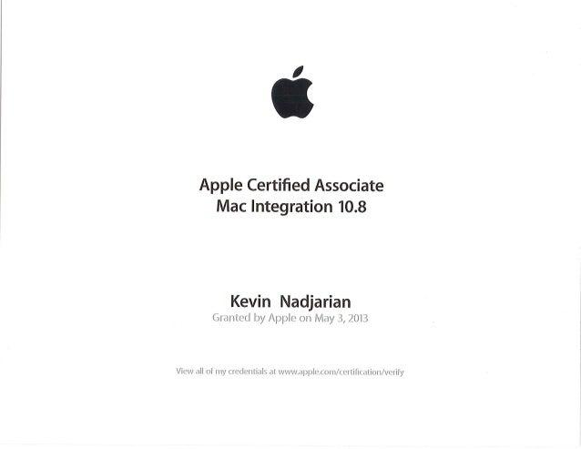 mac certification