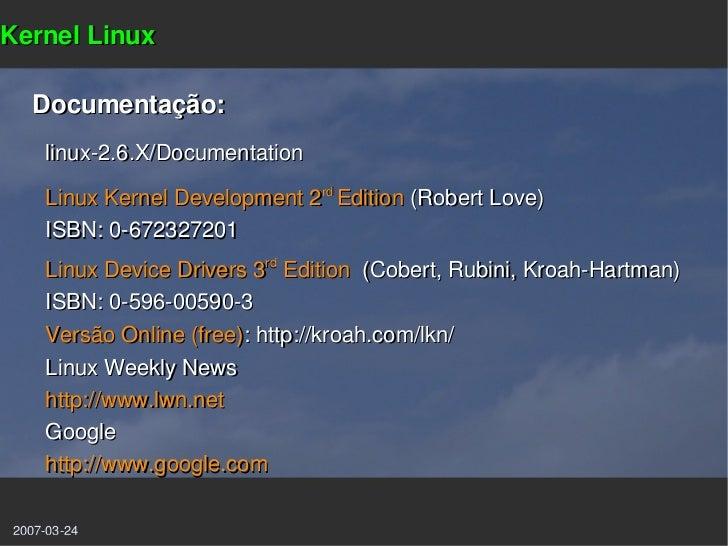 Linux Kernel Development, Second Edition