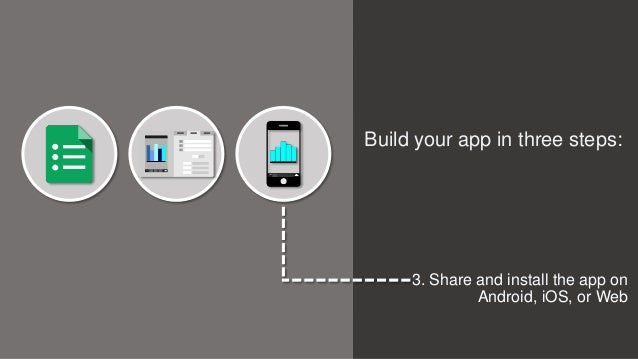 Build a Mobile App with Google Forms and AppSheet