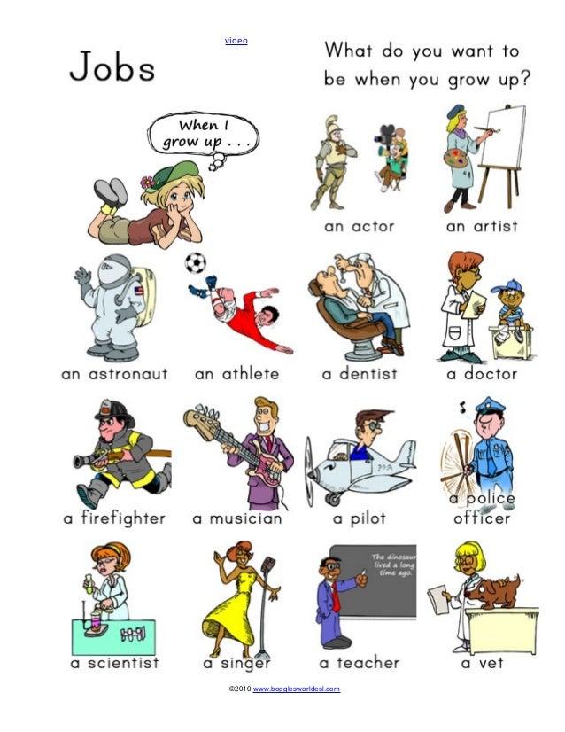 04 Job Vocabulary