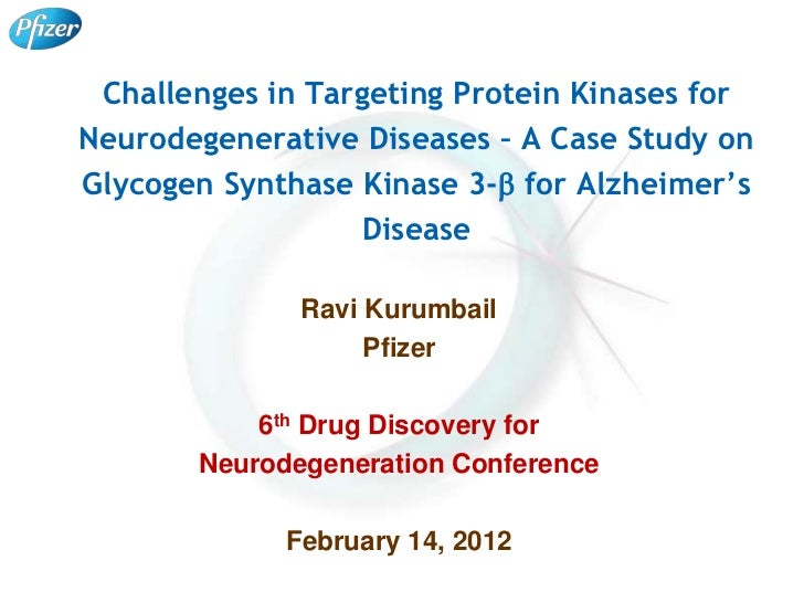 Challenges in Targeting Protein Kinases forNeurodegenerative Diseases – A Case Study onGlycogen Synthase Kinase 3-b for Al...
