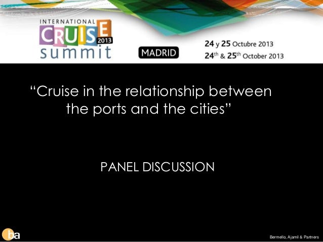 relationship between ships and ports