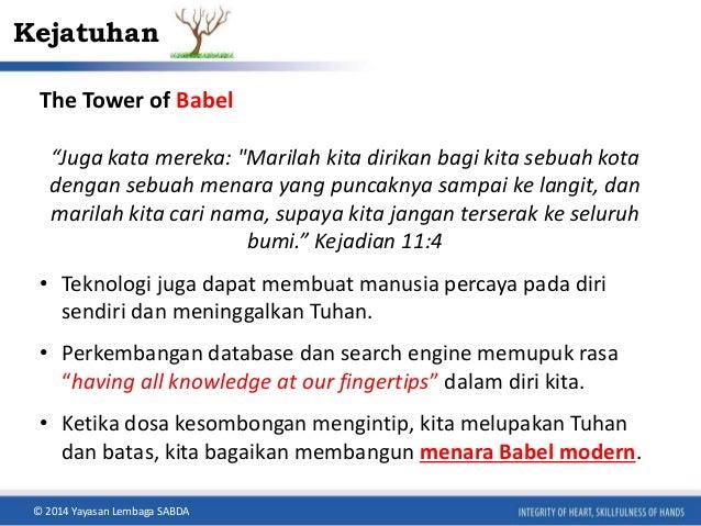 """Kejatuhan  The Tower of Babel  """"Juga kata mereka: """"Marilah kita dirikan bagi kita sebuah kota  dengan sebuah menara yang p..."""