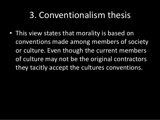 Toleration thesis