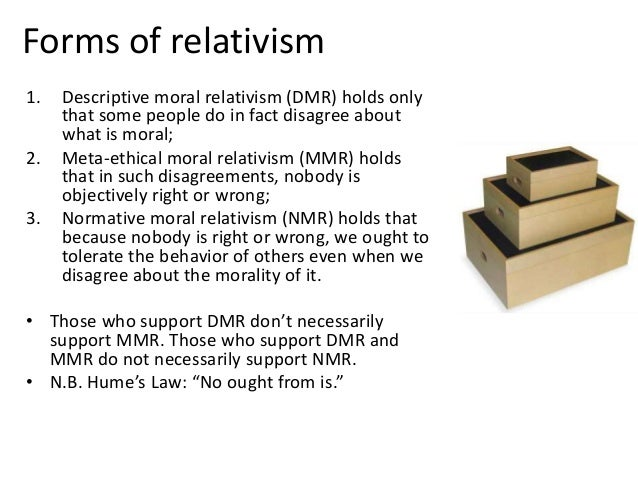 thesis of ethicalmoral relativism