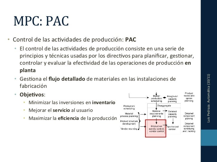 CIM 04 - Planificación y Control de la Producción (II) Slide 2