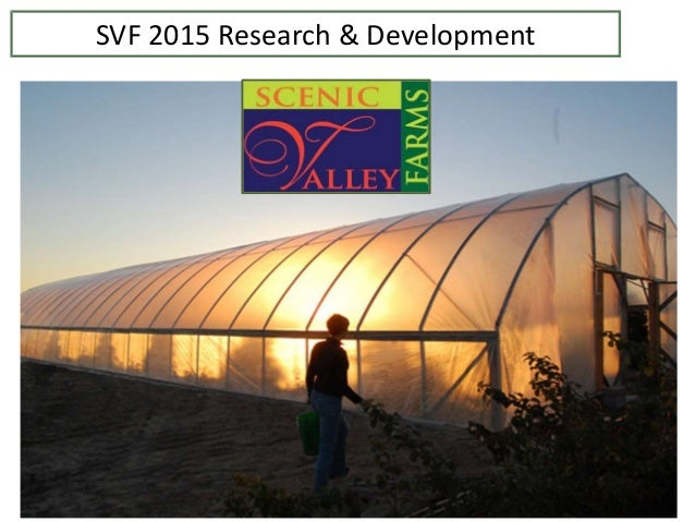 SVF 2015 Research & Development