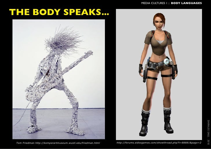 The Body Speaks: nonverbal  communication & semiotics
