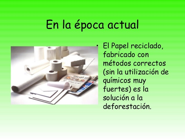 Proceso Papel Carton  Fabricacion