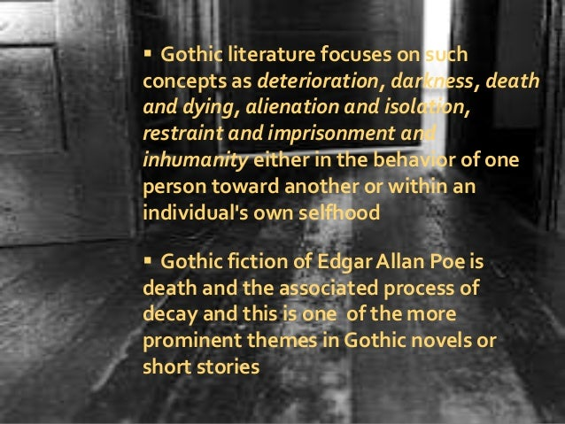 the depiction of death and darkness in edgar allan poes works The depiction of death essay examples  the depiction of death and darkness in edgar allan poe's works  in edgar allan poes poems he writes about death and.