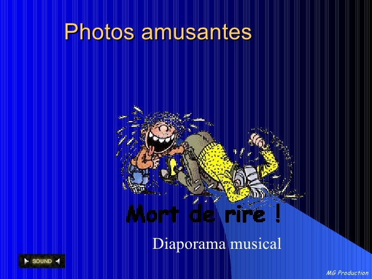 Photos amusantes Diaporama musical