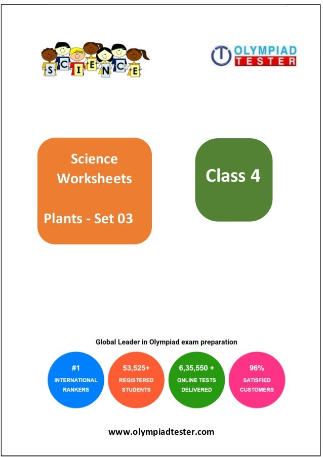 Class 4 Science Olympiad Sample papers - Plants Set 03