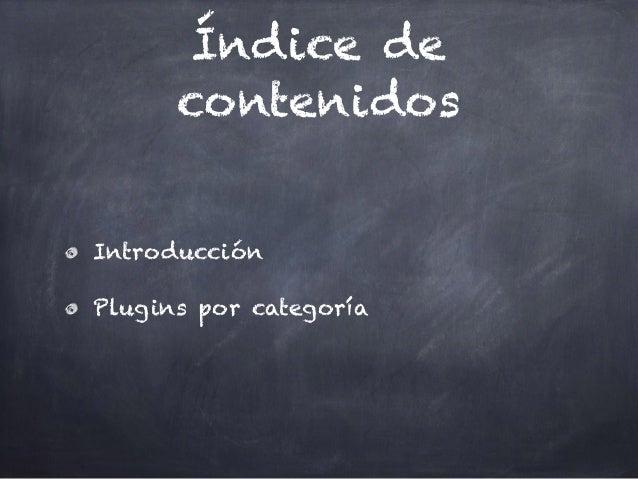 Blog Marketing con Wordpress: Unidad 04 Plugins Típicos Slide 3