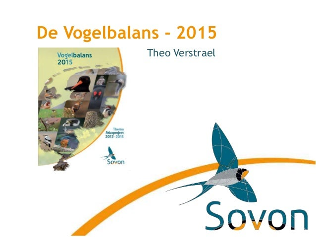 De Vogelbalans - 2015 Theo Verstrael
