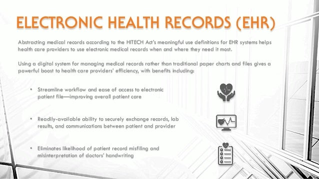 Scanning Abstracting Amp Adding Medical Records To An Ehr