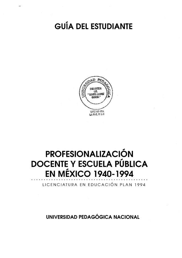 04 profesionalizacion docente