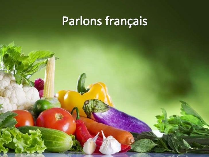 Le livre vertIl vous           Le vocabulaire - les aliments faut…                    Act 97 p. 4Devoir        Étudier le ...