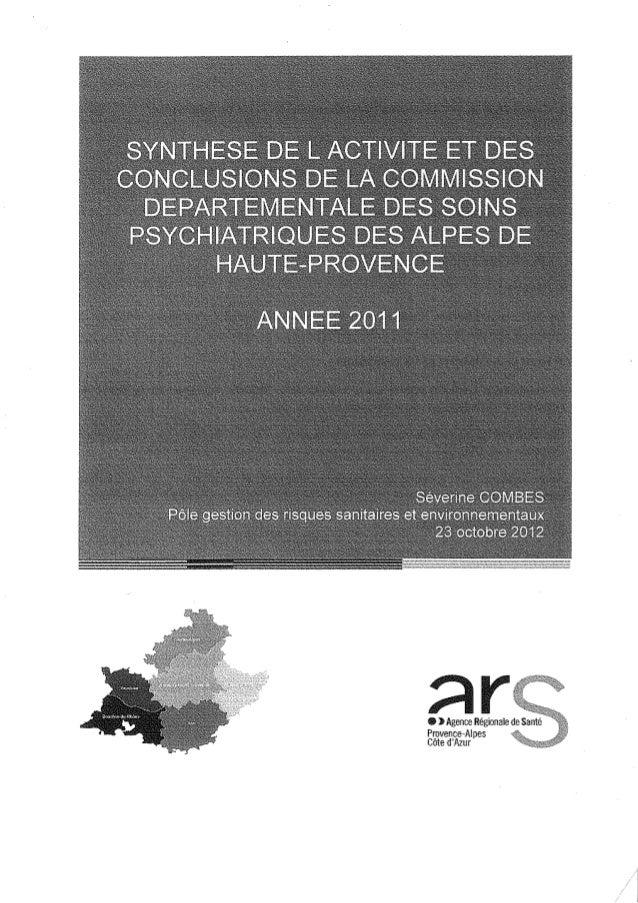 04 rapport activité cdsp 2011