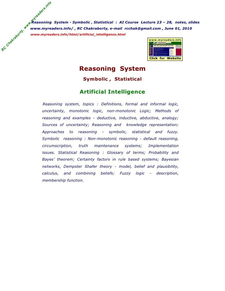 04 reasoning systems fo fandeluxe Images