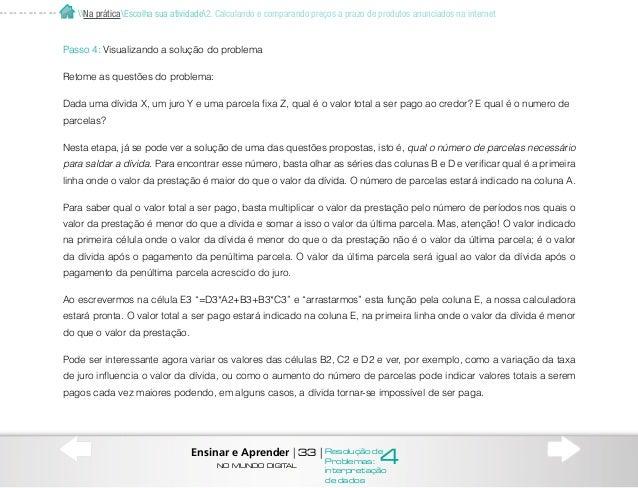 3. Atividades interdisciplinares Pesquisa de informações numéricas sobre população e economia brasileira no site do Instit...