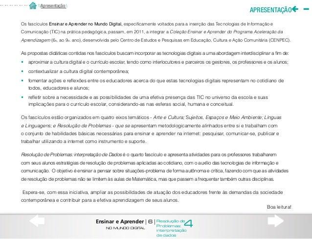 A ESTRUTURA DO FASCÍCULO Esta publicação está organizada em duas partes: Para Entender, com informações sobre os conceitos...