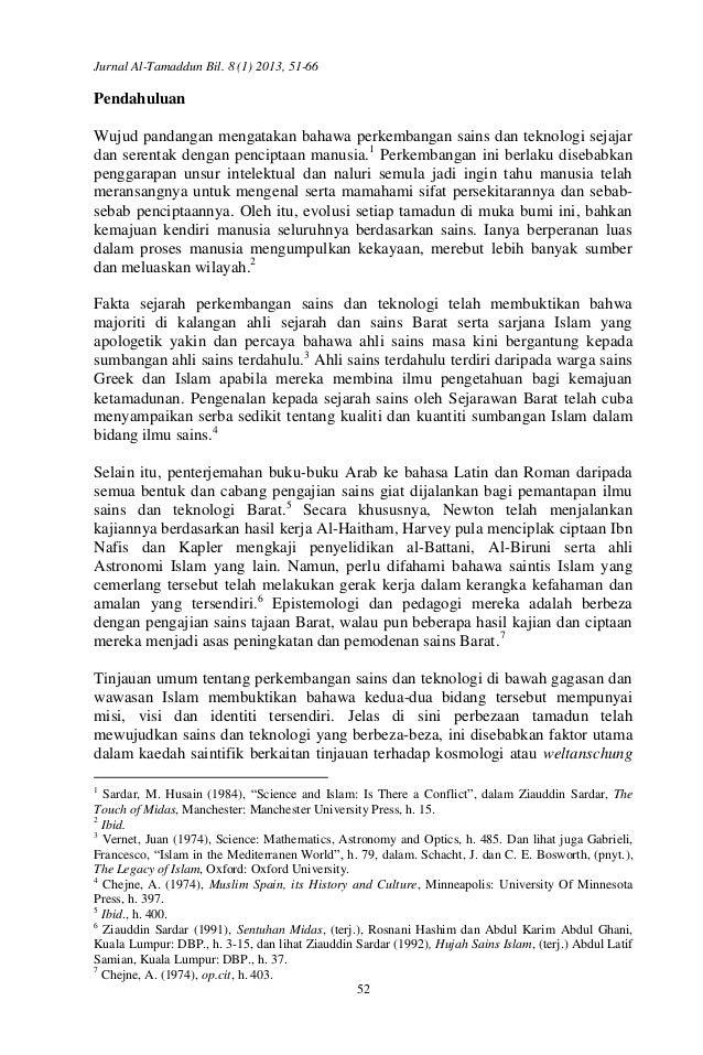 Perkembangan Sains Dan Teknologi Di Malaysia